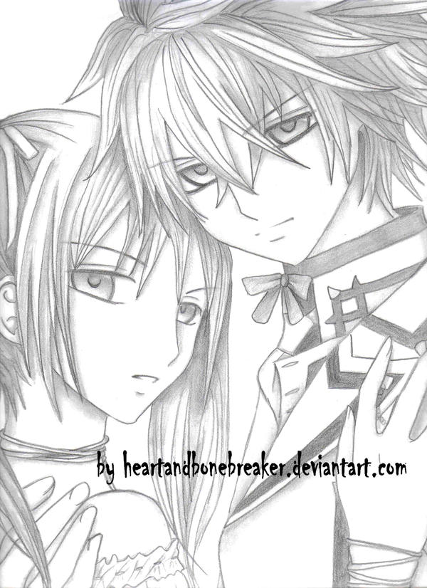 Rima and Shiki by heartandbonebreaker