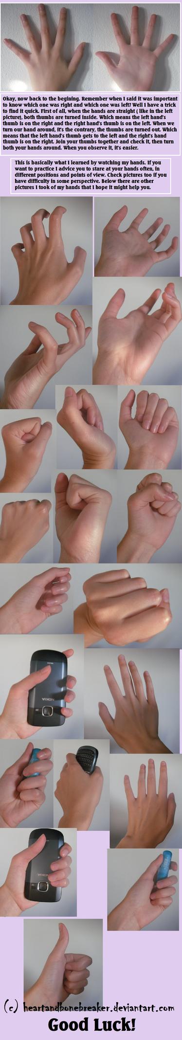 Hands tutorial part 2 by heartandbonebreaker