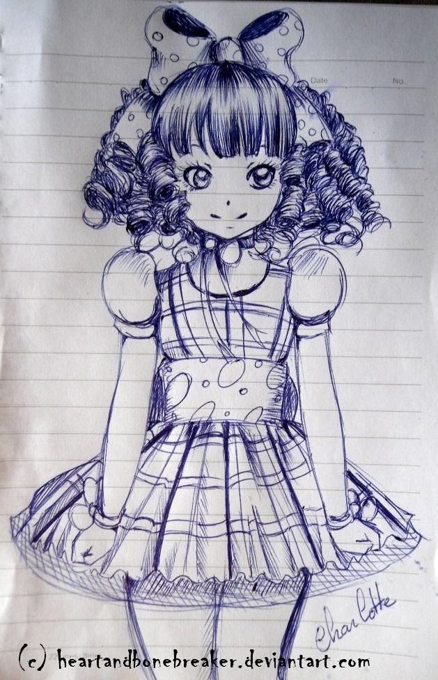 Charlotte Doodle by heartandbonebreaker