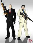 Agent 47 vs. Golgo 13