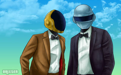 Daft Punk by brixcatinsag7