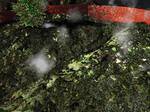 terrain vert rendu rater