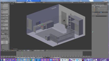 modelisation d'une chambre sur ustream by evin279