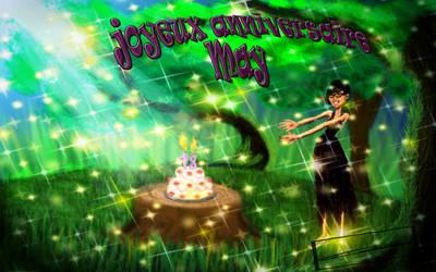 carte d'anniversaire by evin279