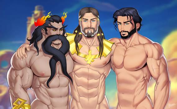 3 Gods