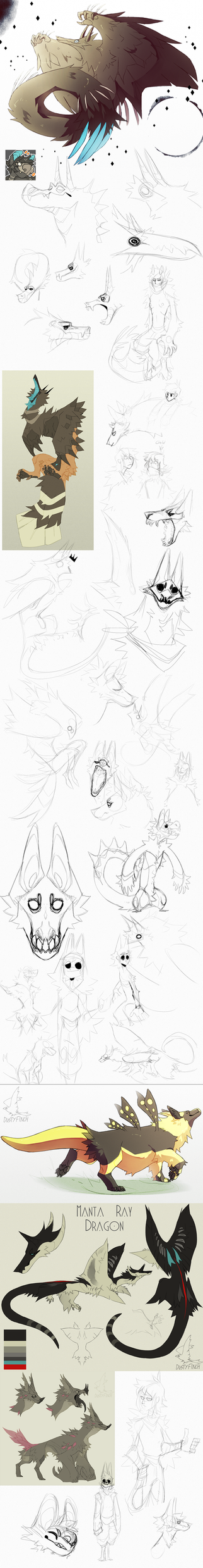 sketch dump no.6 by Dusty-Demon