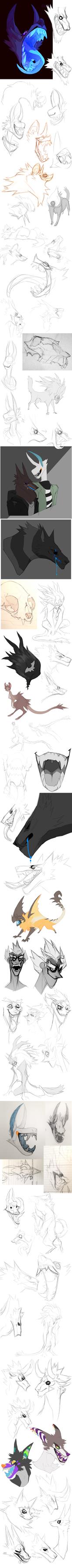 Sketch Dump no.21 by Dusty-Demon