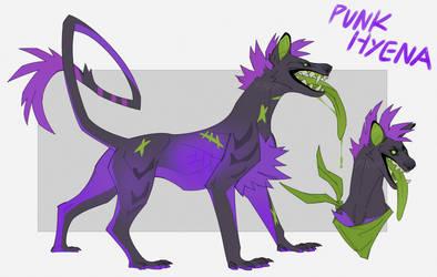 Punk Hyena Adopt (CLOSED) by Dusty-Demon