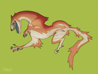 Orange Sherbet by Dusty-Demon