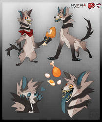 Hyena Adopt (CLOSED) by Dusty-Demon