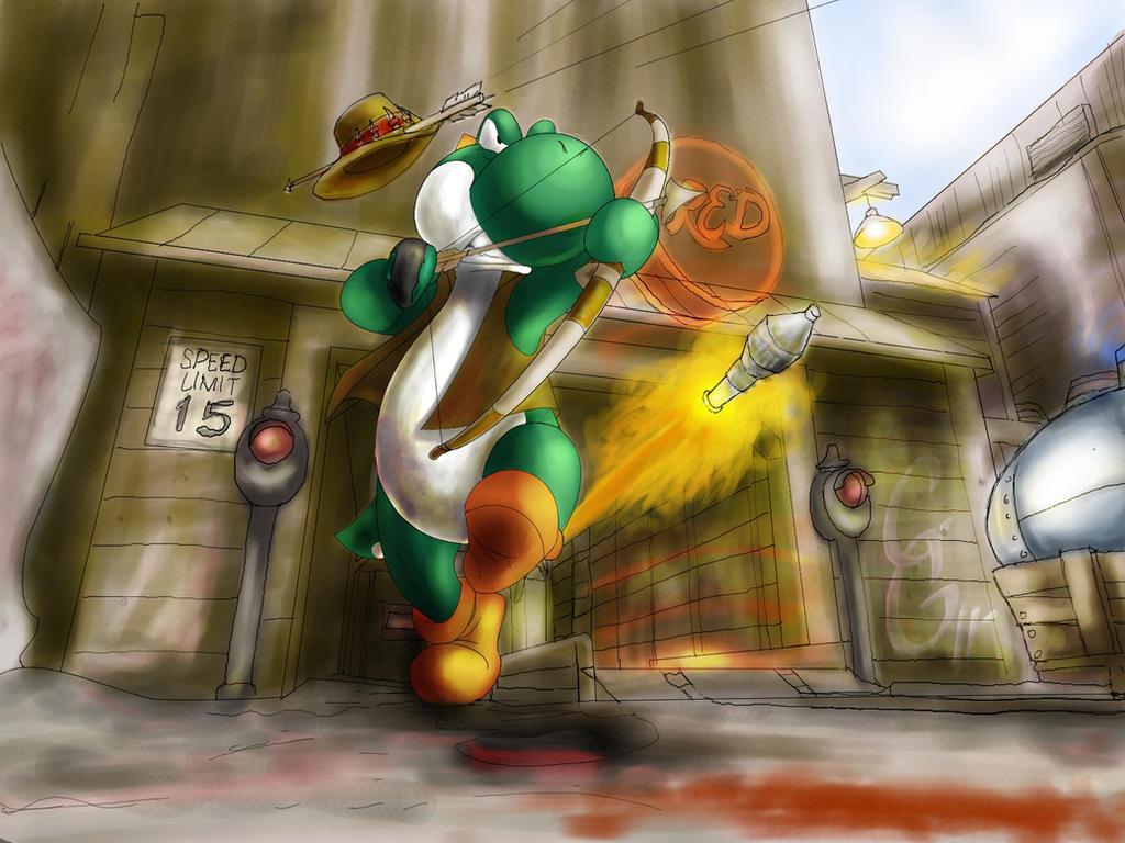 Yoshi's TF2 Battle frenzy by Haaloe