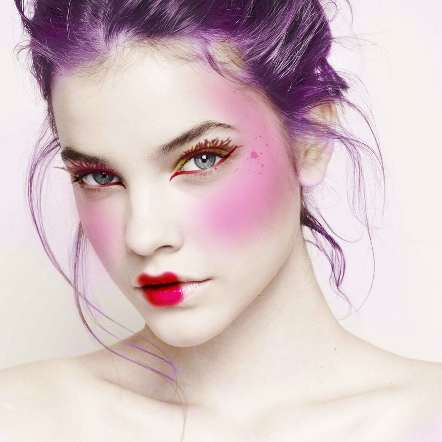 Capitol Couture- Make up by annabef on DeviantArt