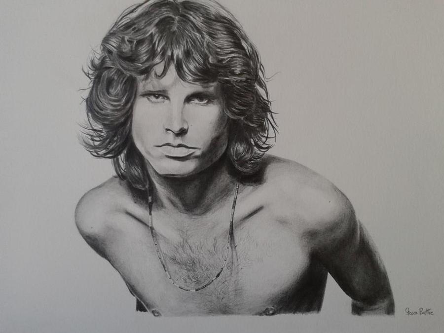 Jim Morrison by stevenbeattie