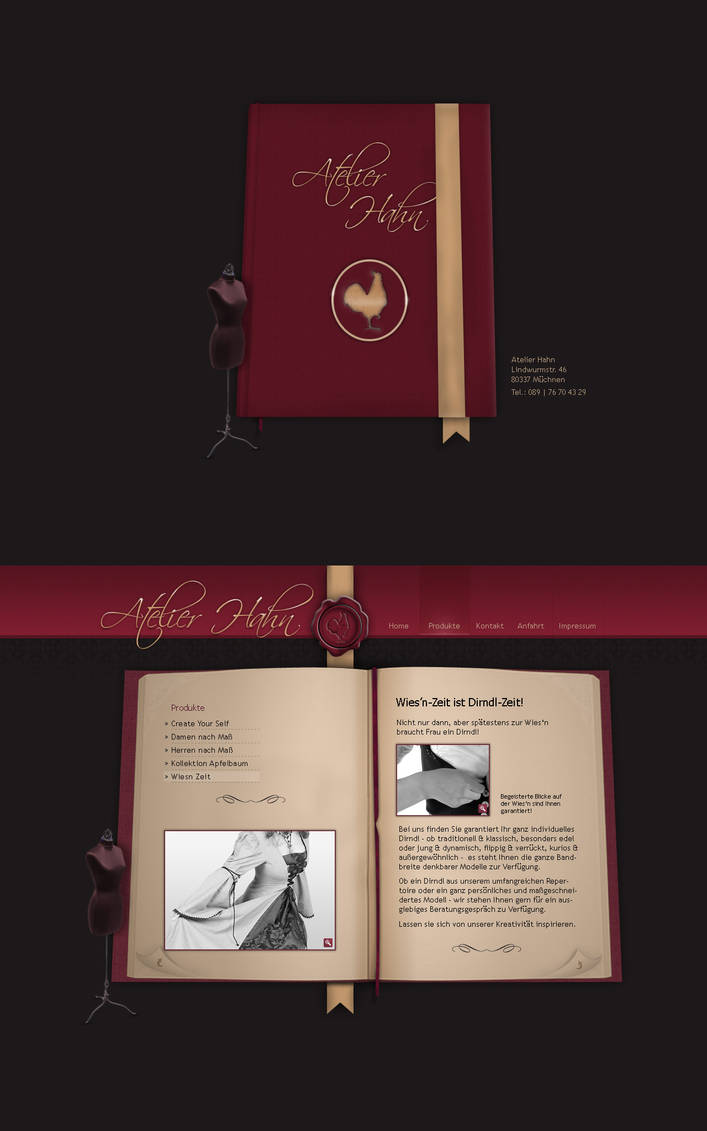 Tailorstudio - Website