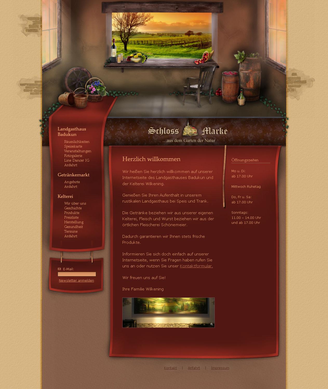 Wine-cellar - Website
