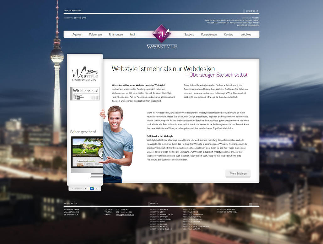 Webstyle - Agency Relaunch I by medienvirus