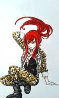 fairy tail : Erza Scarlet by BakaAden