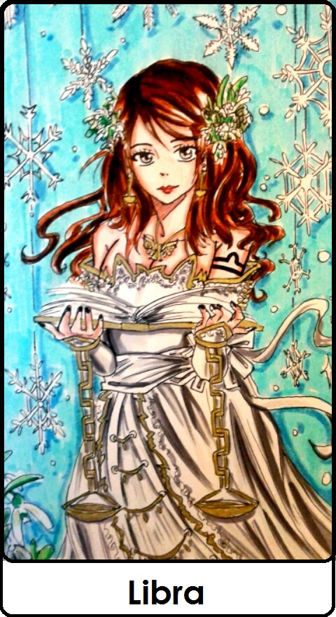Tessa Gray : Zodiac Libra by BakaAden