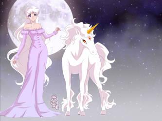 Lady Amalthea and The Last Unicorn