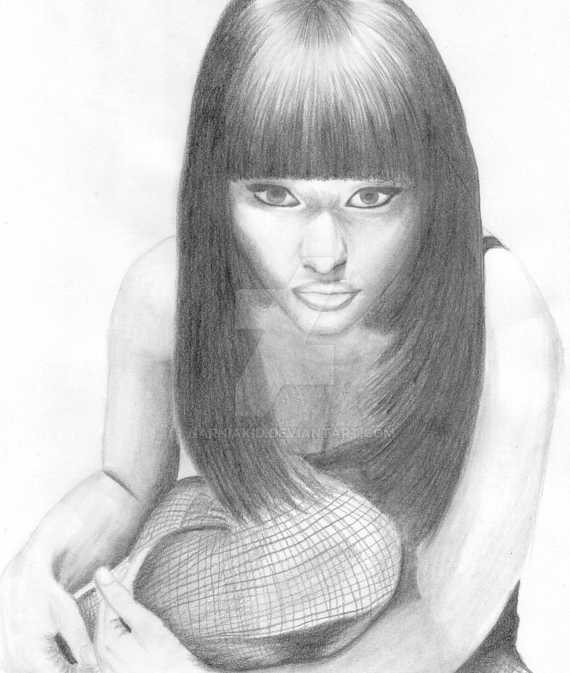 Nicki minaj drawing 2 by narniakid on deviantart nicki minaj drawing 2 by narniakid voltagebd Image collections