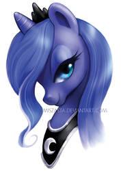 Princess Luna by miszasta