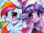 Dashie and Twily