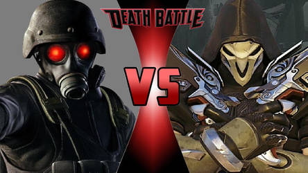 Claim: Black-Clad and Badass. (HUNK VS Reaper)