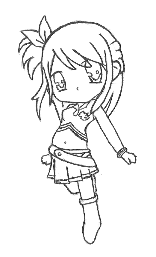 Fairy Tail Chibi - Lucy by RebeccaProductions on DeviantArt