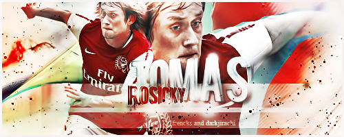 Rosicky- Arsenal- CollabSign by francksgfx