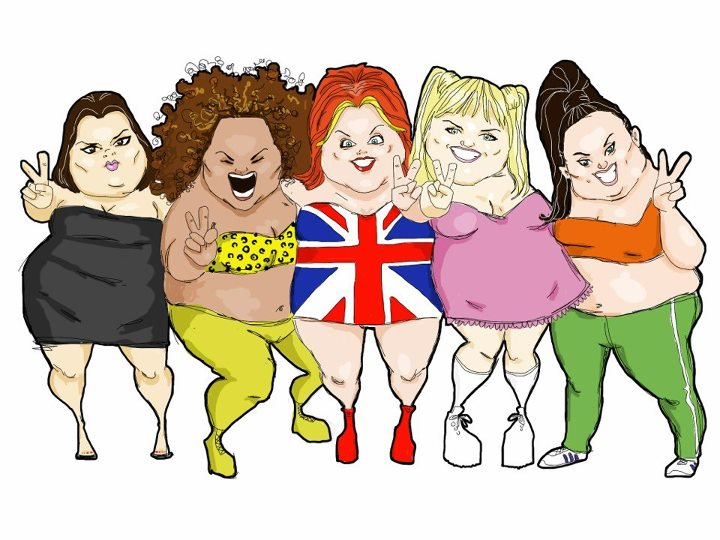 Fat Spice Girls by bluyou