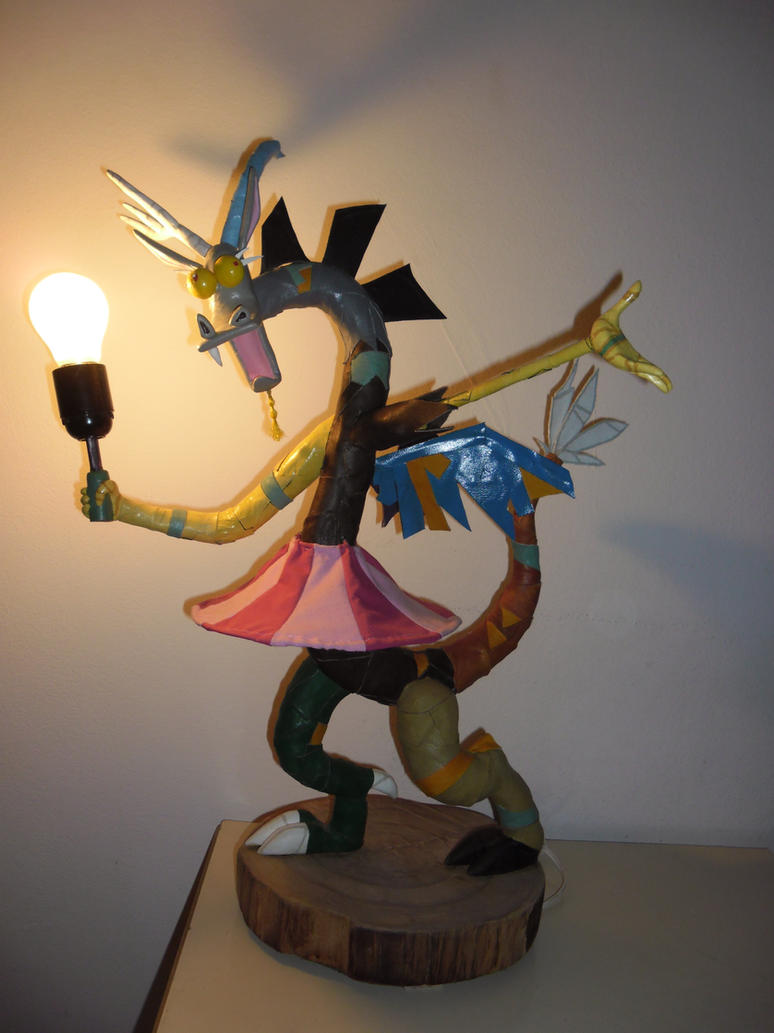2nd Discord Lamp by AriDash