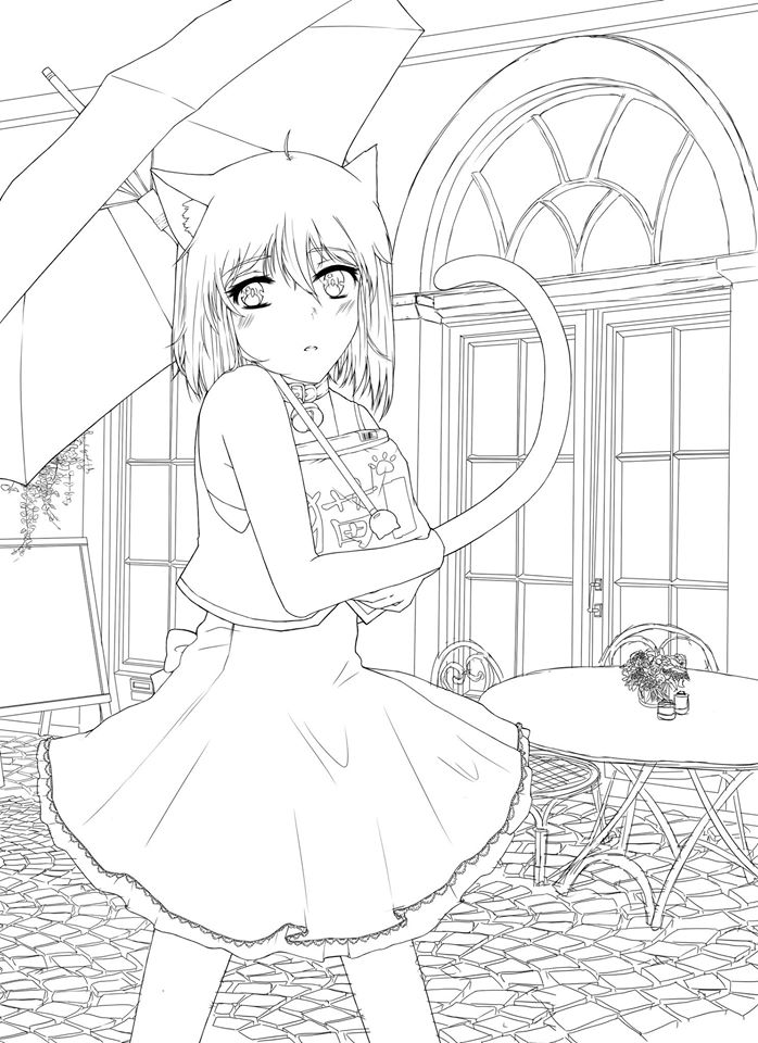 Wonderful Cat's Life W.I.P by NachoPenguin