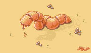 Sandworm by eigenbom