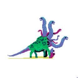 Cyborg Dino by eigenbom