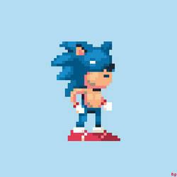 Sonic by eigenbom