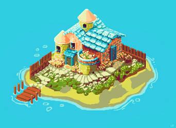Beach House by eigenbom