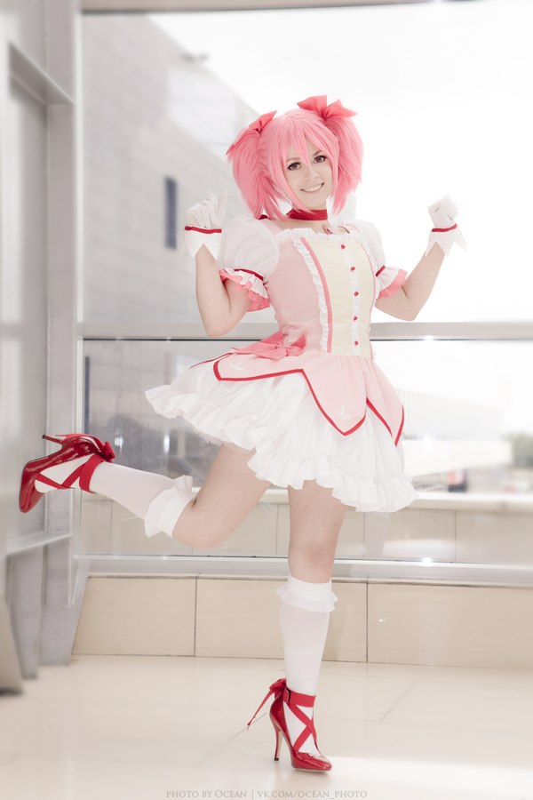 Madoka Kaname - cosplay 5 by Hanny-Senpai