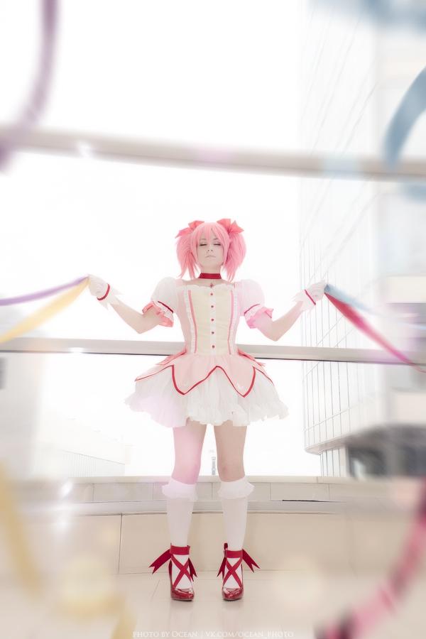 Madoka Kaname - cosplay 9 by Hanny-Senpai