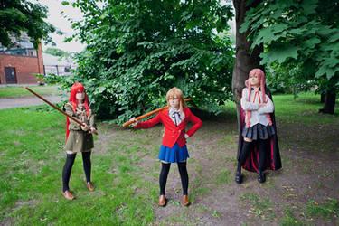 Tsundere cosplay 3 by Hanny-Senpai