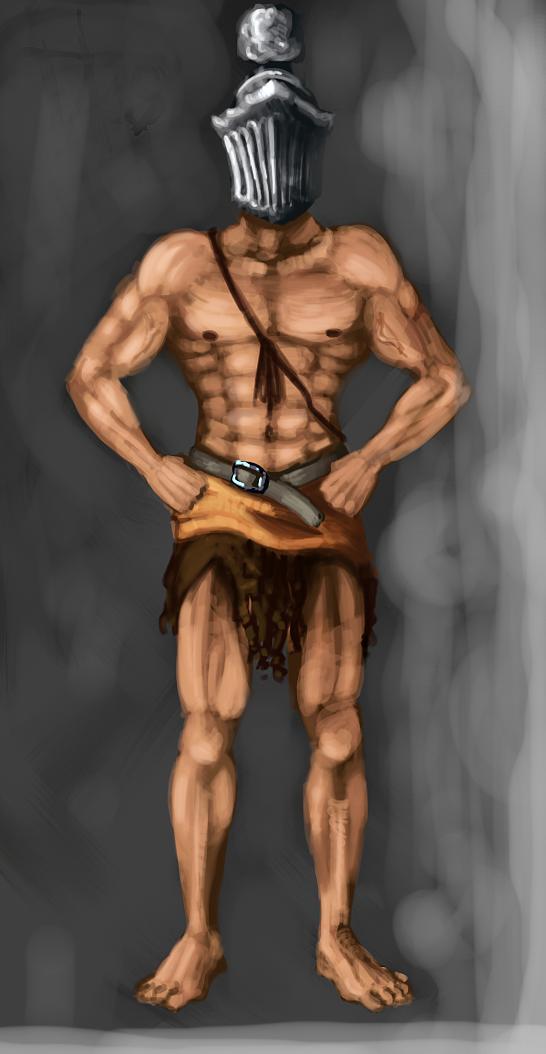 Spartan boy by sakamu