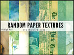Texture Pack #1 - Random Paper Textures
