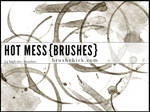 Hot Mess Coffee Stain Brushes