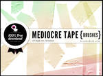 Mediocre Tape Brushes Part 1