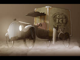 Ice Truck by Blu-Hue