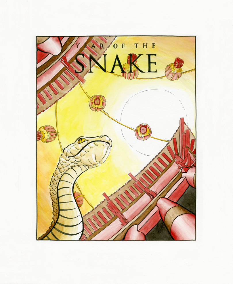 Year of the Snake 2013 by Blu-Hue