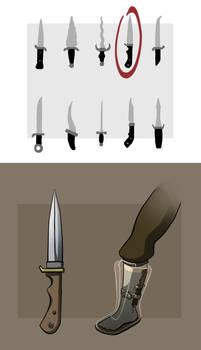 Eva's Bootknife