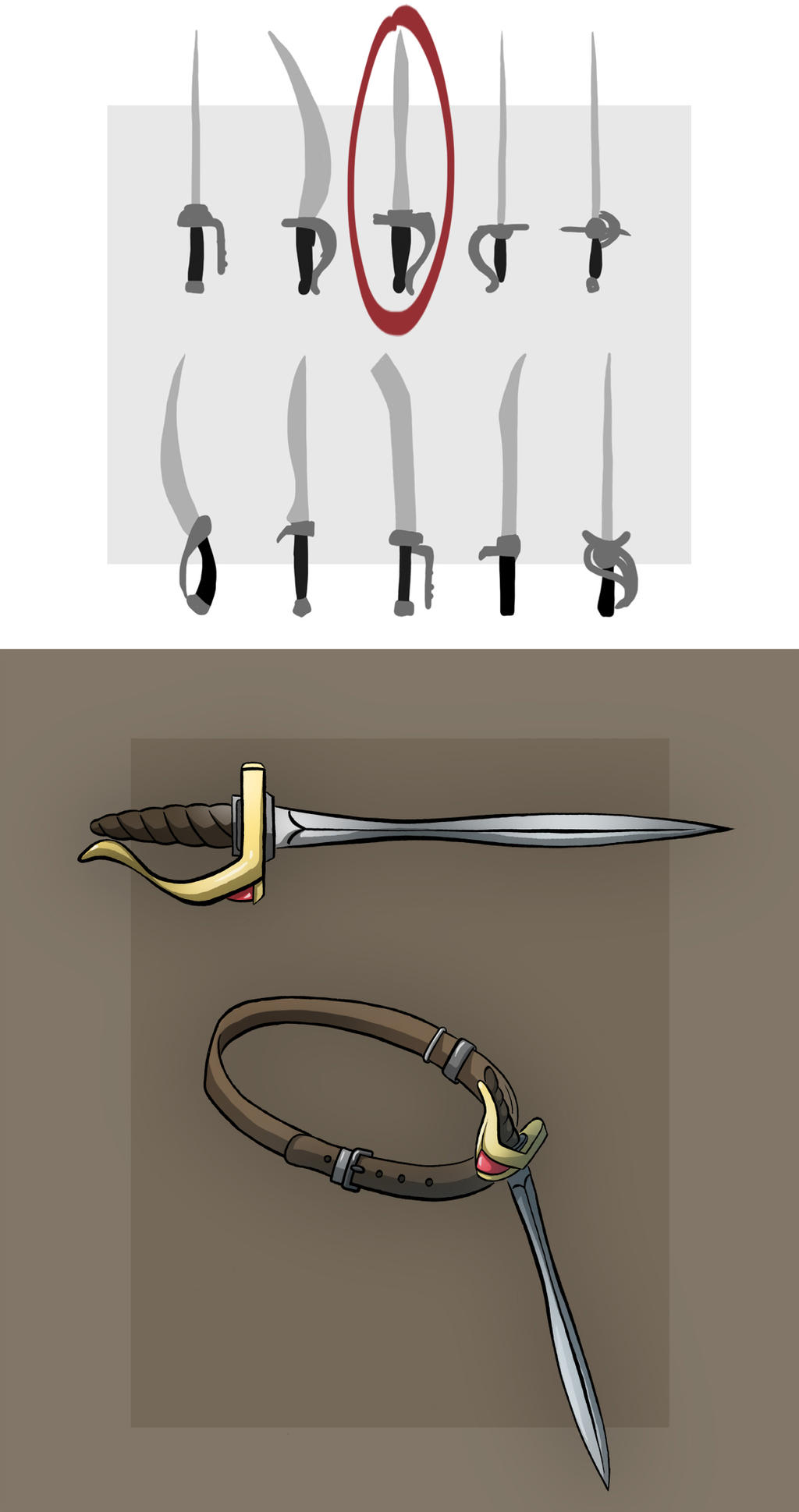 Eva's Sword by Blu-Hue