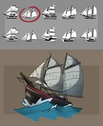 Eva's Boat