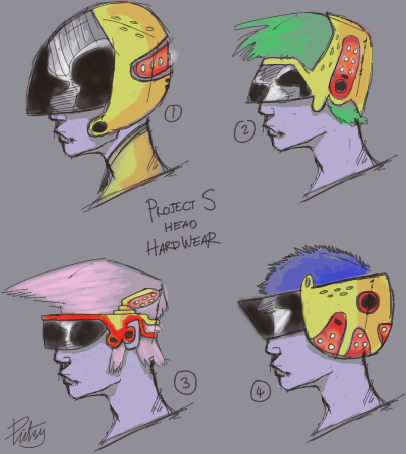 Project S Head Hardwear 1-4 by pictsy