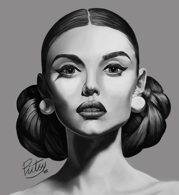 Face Study #1 Nicole